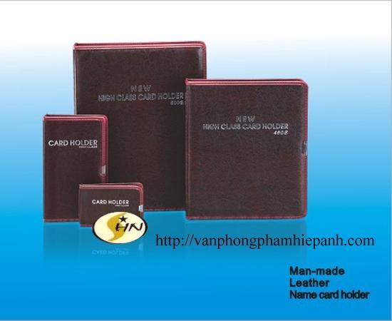 Sổ Card  300 card PU - 028 da đẹp