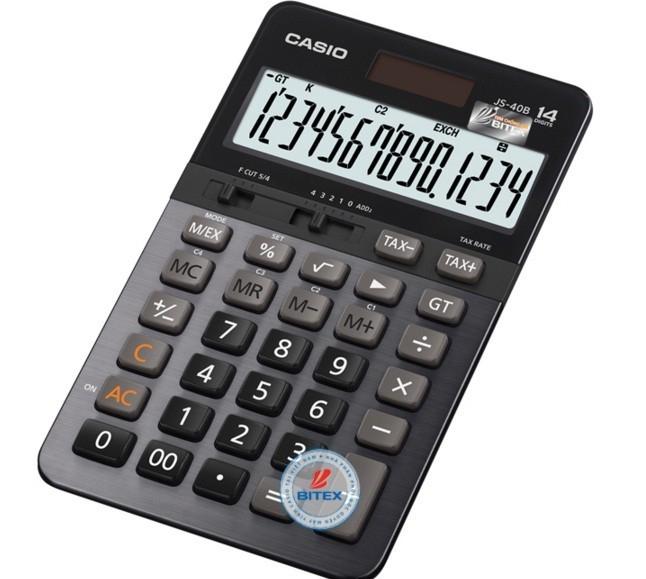 Máy tính Casio  JS 40B xịn ( Hàng chính hãng  ) bảo hành 2 năm